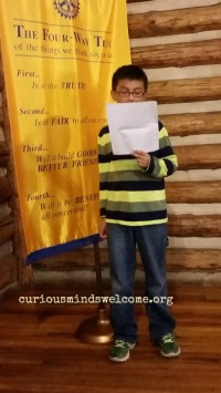 Voice of the Youth Impromptu Speaking Contest Clovis Rotary Club